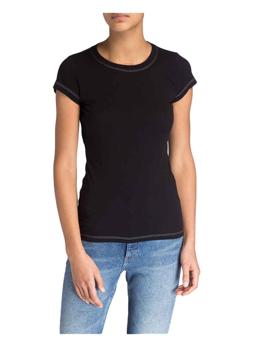 Velvet shirt T Schwarz Bei Von Gauzy Kaufen 0PnO8wk