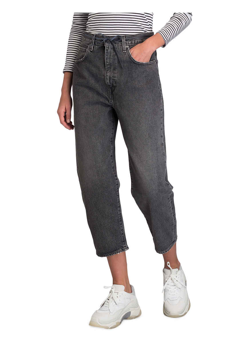 Bei Kaufen Barrel Levi's® Von Black Coal Cropped jeans Ku35TlFJc1