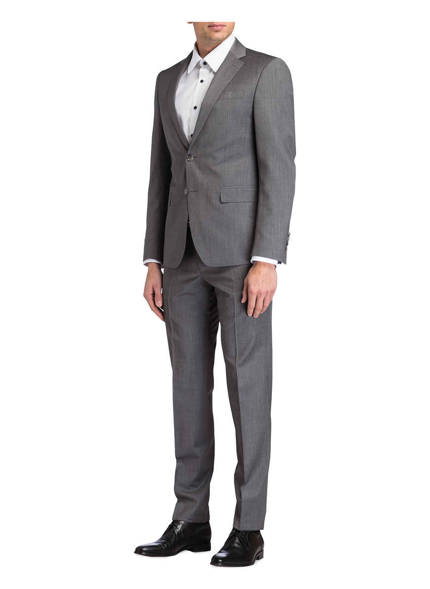 Anzug Von Slim Meliert Kaufen Fit JoopBei blayr Grau Herby f6v7ymYIgb