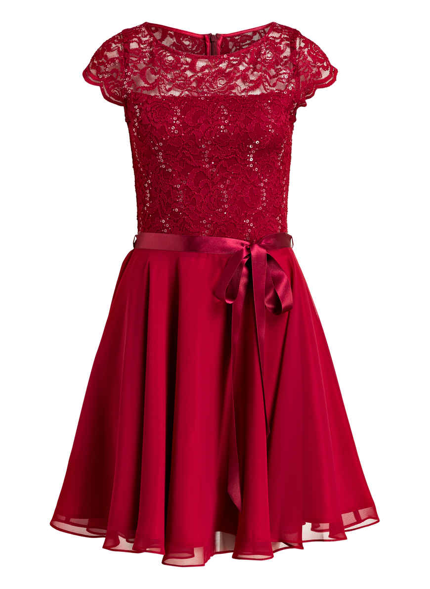 Kleid Bei Kaufen Swing Dunkelrot Von 8w0kXOPn
