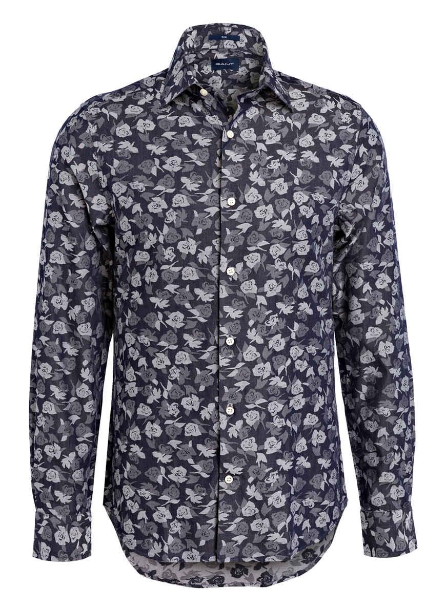 Hemd Bei Kaufen Dunkelblau Slim Gant Fit Von A34jcRLq5