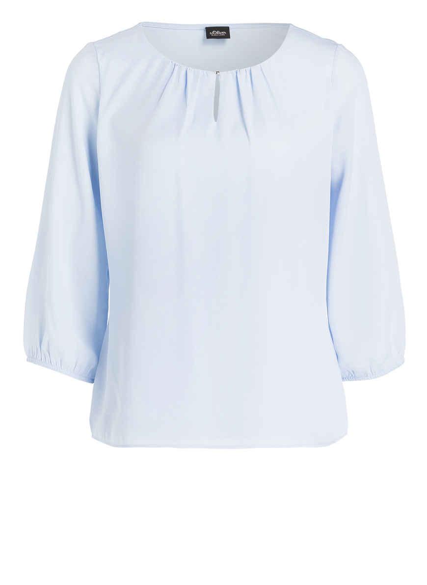 Hellblau S oliver Label Bei Black 4 Von Mit arm Bluse Kaufen 3 nXPNwZO80k