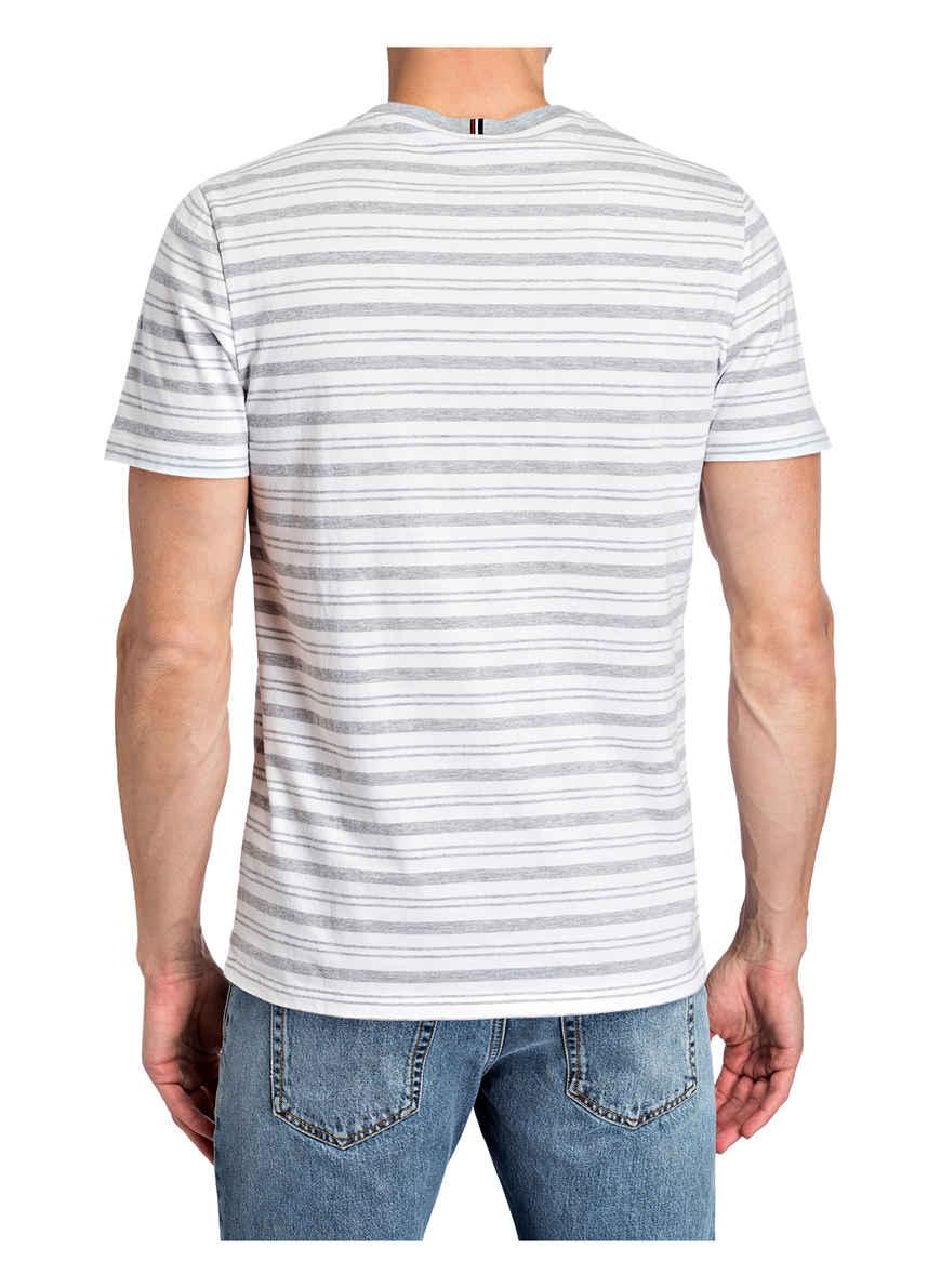 Kaufen Flint Strellson T shirt Von Bei WeissGrau 4AR35jL