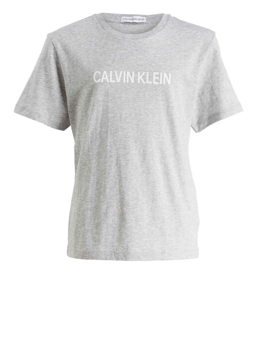 Klein Calvin shirt T Von Kaufen Grau Meliert Bei PiOkTuXZ