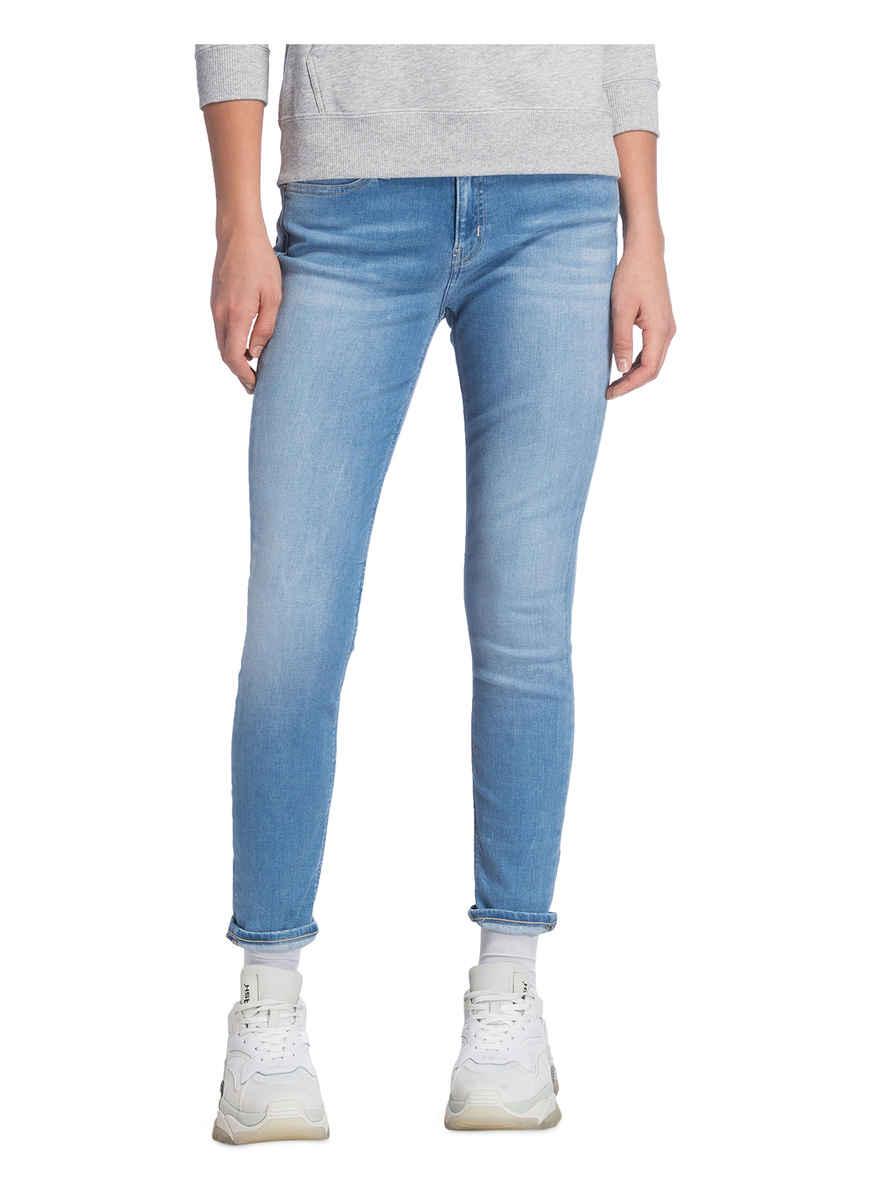 Red Calvin Bei Von Jane Ebroidery Klein Kaufen jeans Skinny Hem Ckj Jeans 34AjL5R