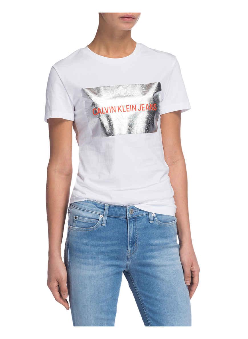 Von T Klein Jeans Bei Kaufen shirt Calvin Weiss 54jLRA3q