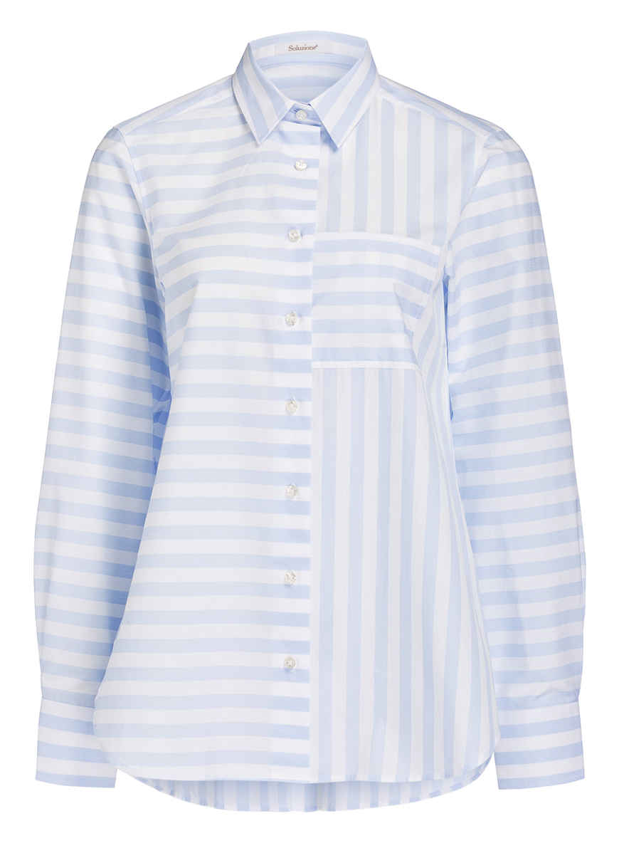 HellblauWeiss Von Soluzione Kaufen Bei Oversized bluse XluiTPZwOk