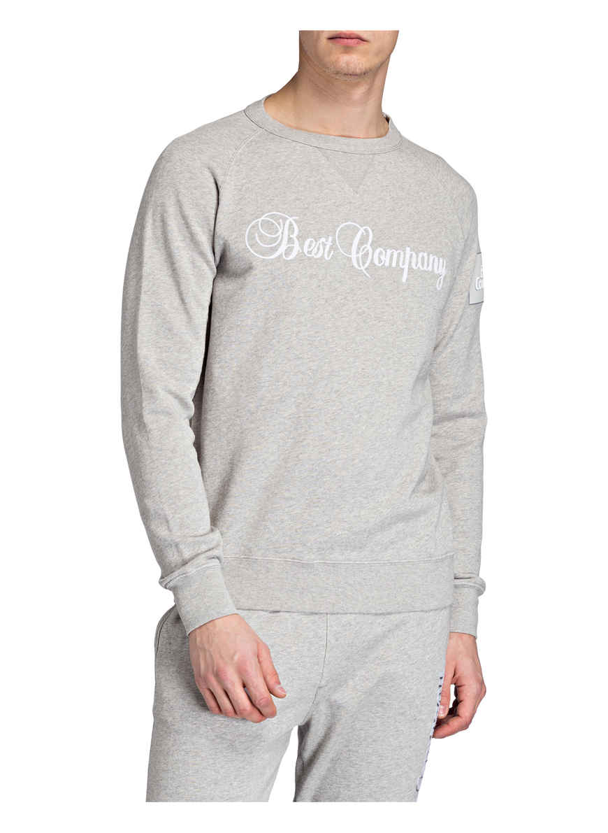Meliert Hellgrau Bei Best Kaufen Von Sweatshirt Company kTwPilOZXu