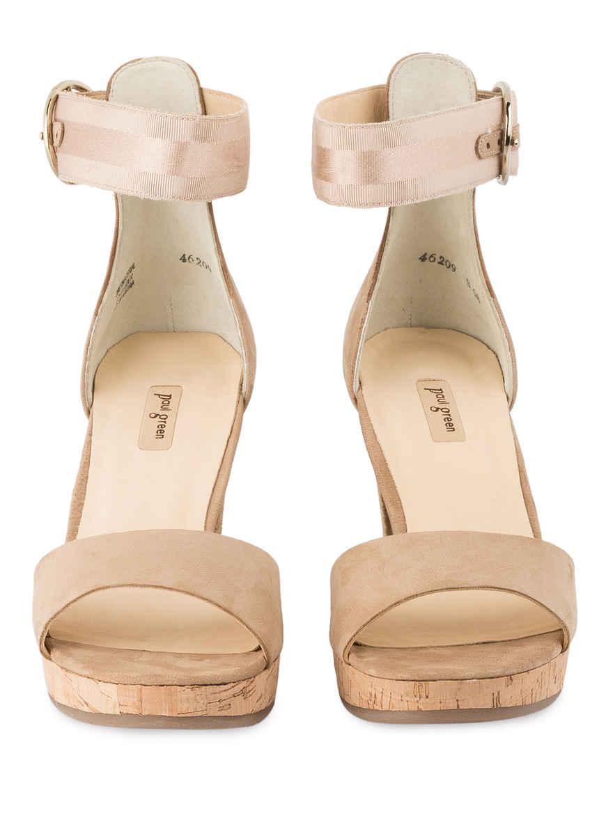 Bei Paul Green Von Beige Sandaletten Kaufen Aj3cq54RL
