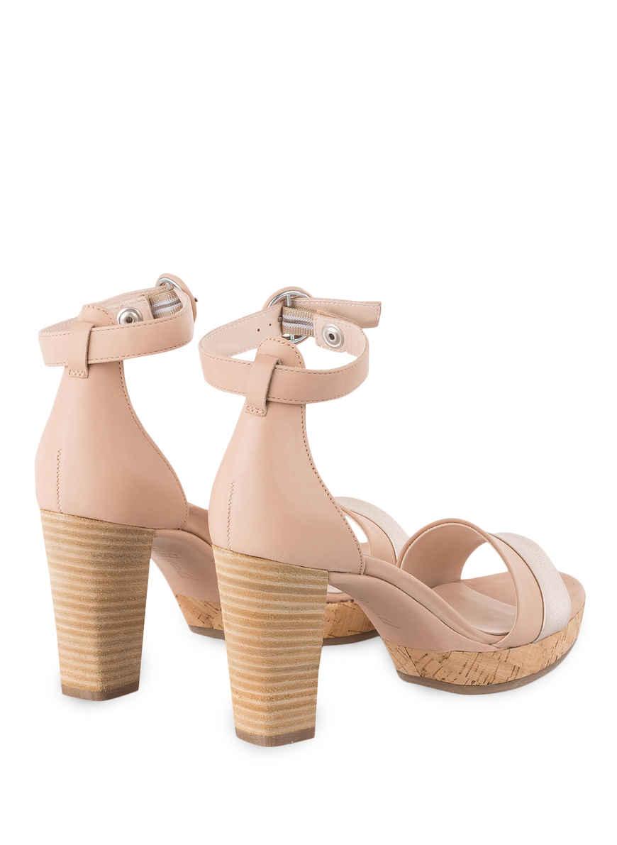 Sandaletten Von Paul Green Rosé/ Silber Black Friday