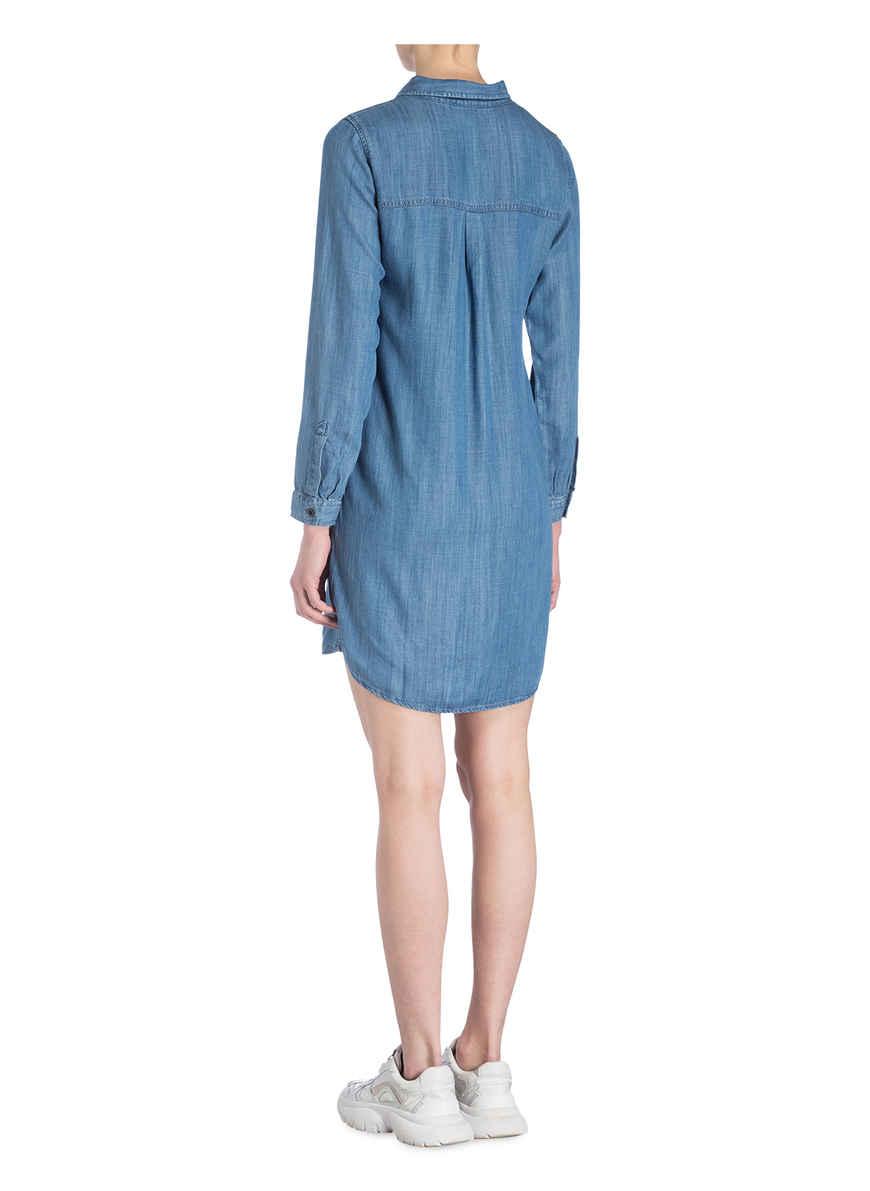 Mavi Hellblau Von Kaufen Bei Hemdblusenkleid tsCrQdh
