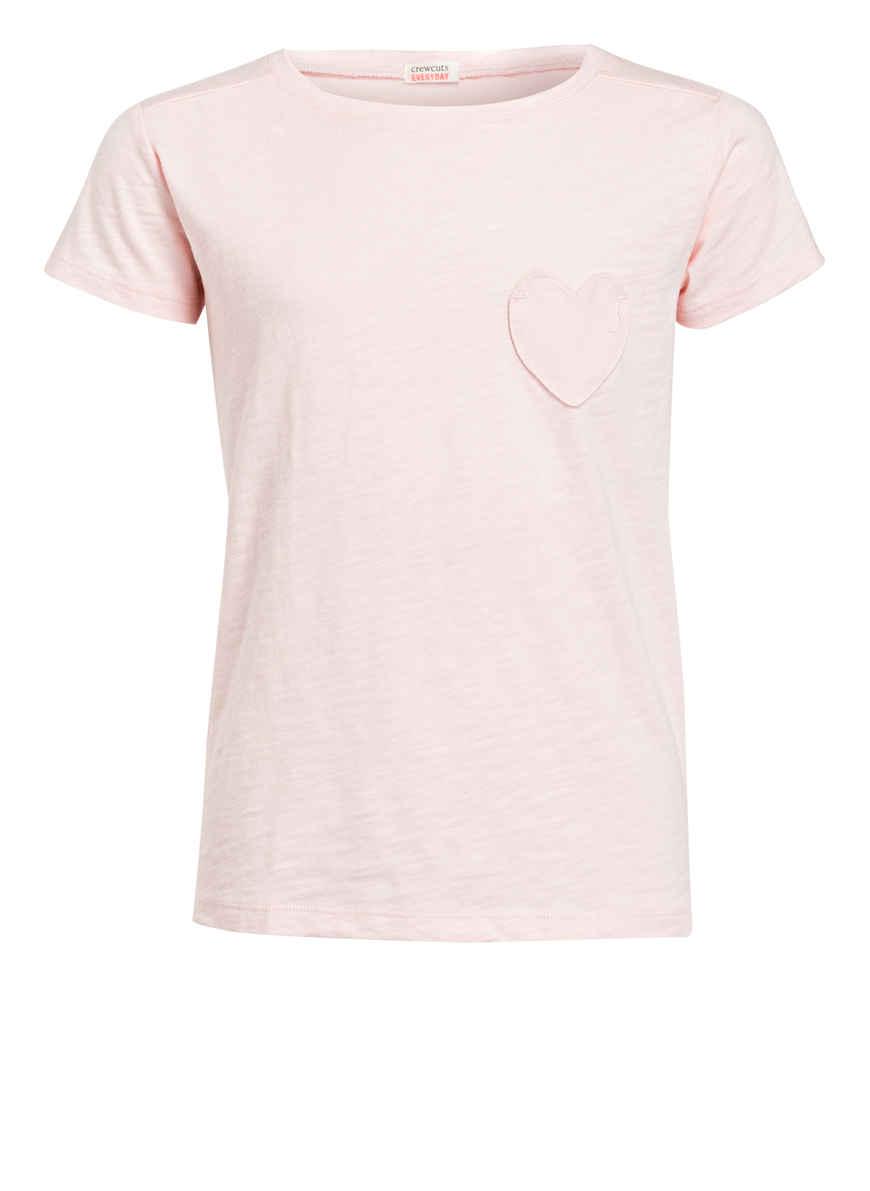 T Bei crew shirt Kaufen Hellrosa J Von D2IWEH9