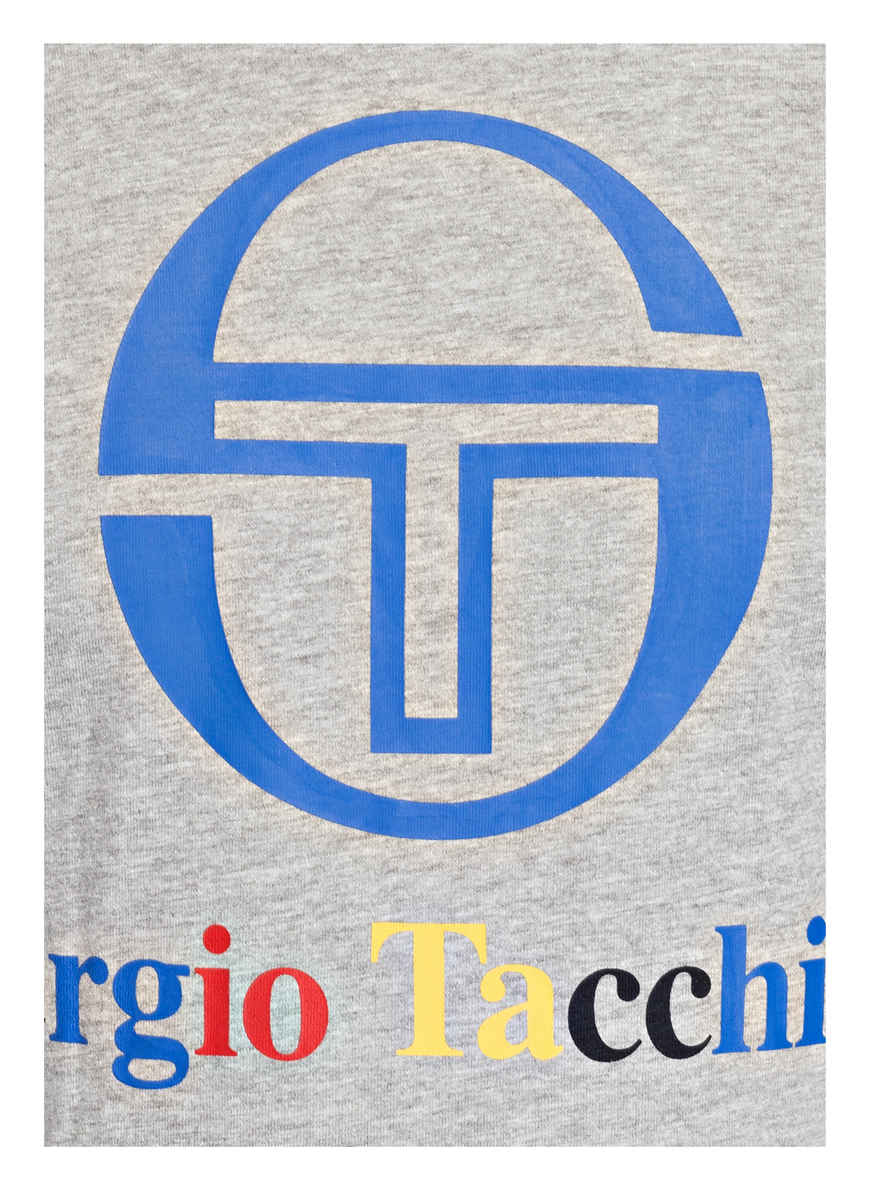 T-shirt Von Sergio Tacchini Grau Meliert Black Friday