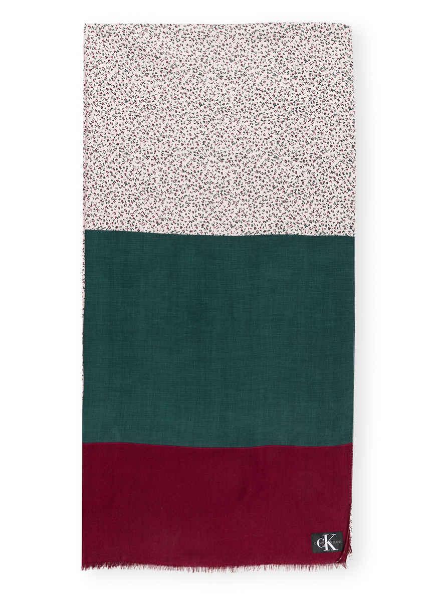 Kaufen Schal Jeans Von Calvin Klein Bei GrünFuchsiaRosa YDIbEWH92e