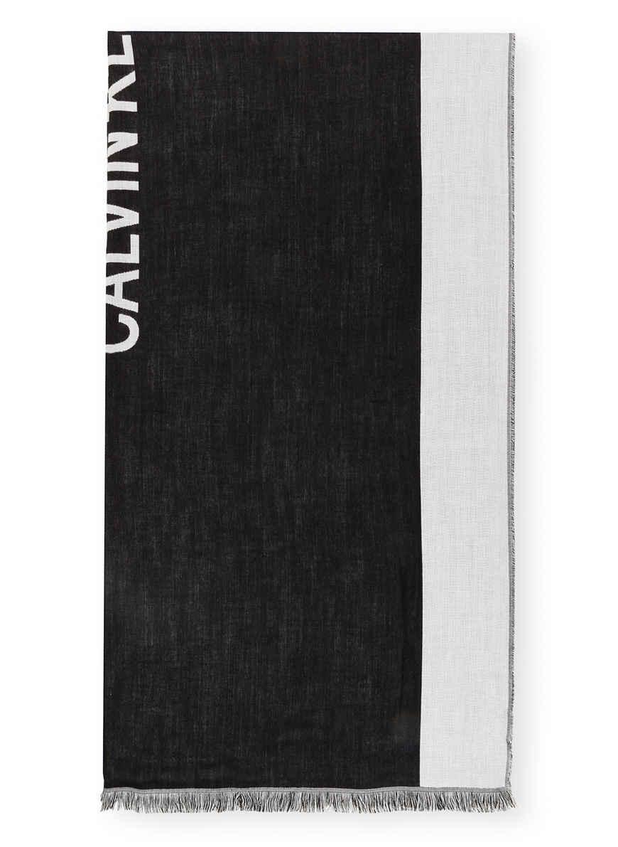 Bei Kaufen Calvin Jeans Von SchwarzHellgrau Klein Schal 8mNwnP0Oyv