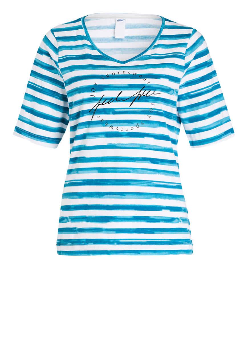 Joy Gestreift T Sportswear GrauWeiss Von Violet Kaufen Bei shirt 2EI9DH
