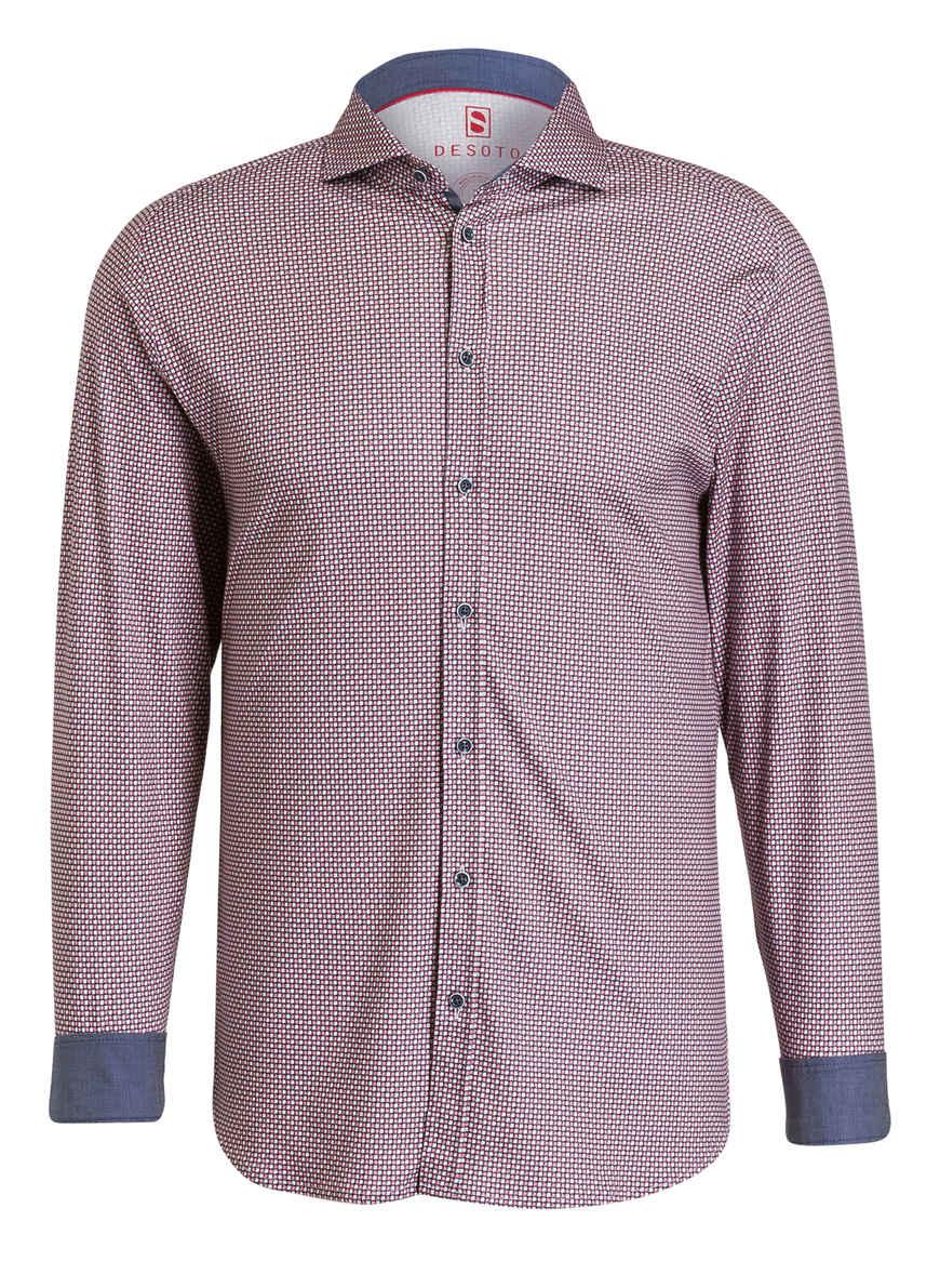 Fit Kaufen Jersey Desoto RotWeissBlau Von Bei hemd Slim TJFKl1c