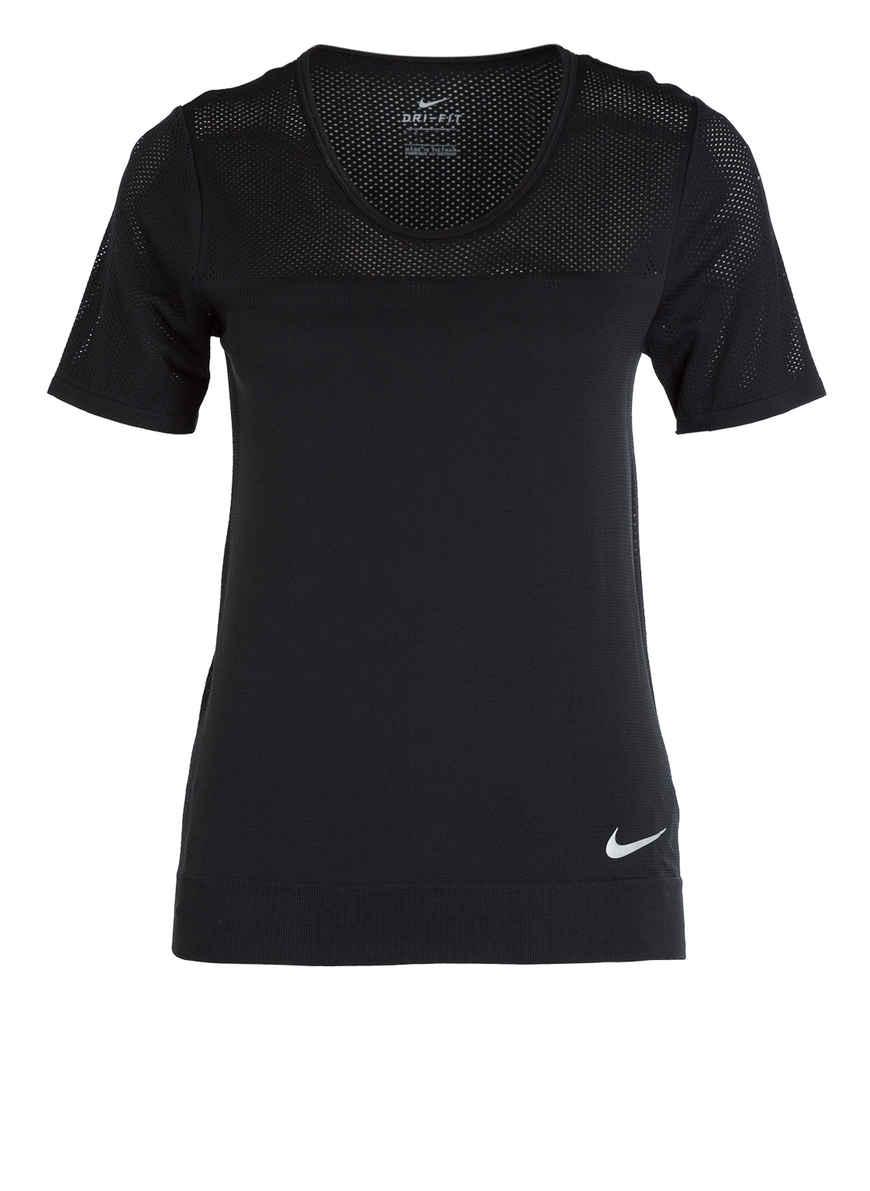 Nike Laufshirt Air, Dri Fit, atmungsaktiv, für Damen BLACK