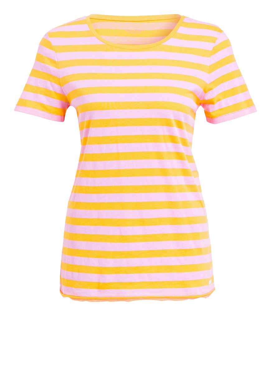 T shirt O'polo Gestreift Von Marc Kaufen Denim RosaOrange Bei y8vn0wPOmN
