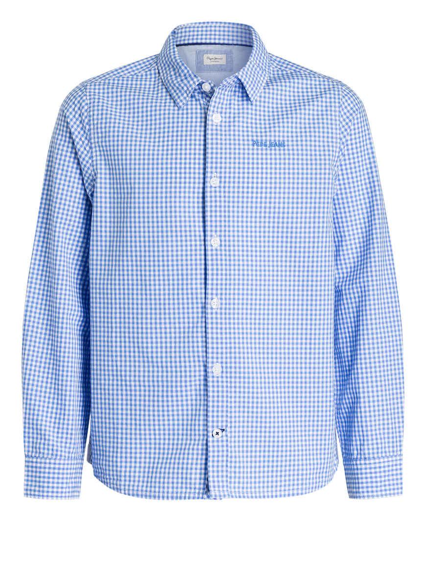 Pepe Von Bei Kaufen BlauWeiss Hemd Kariert Jeans P0wknO