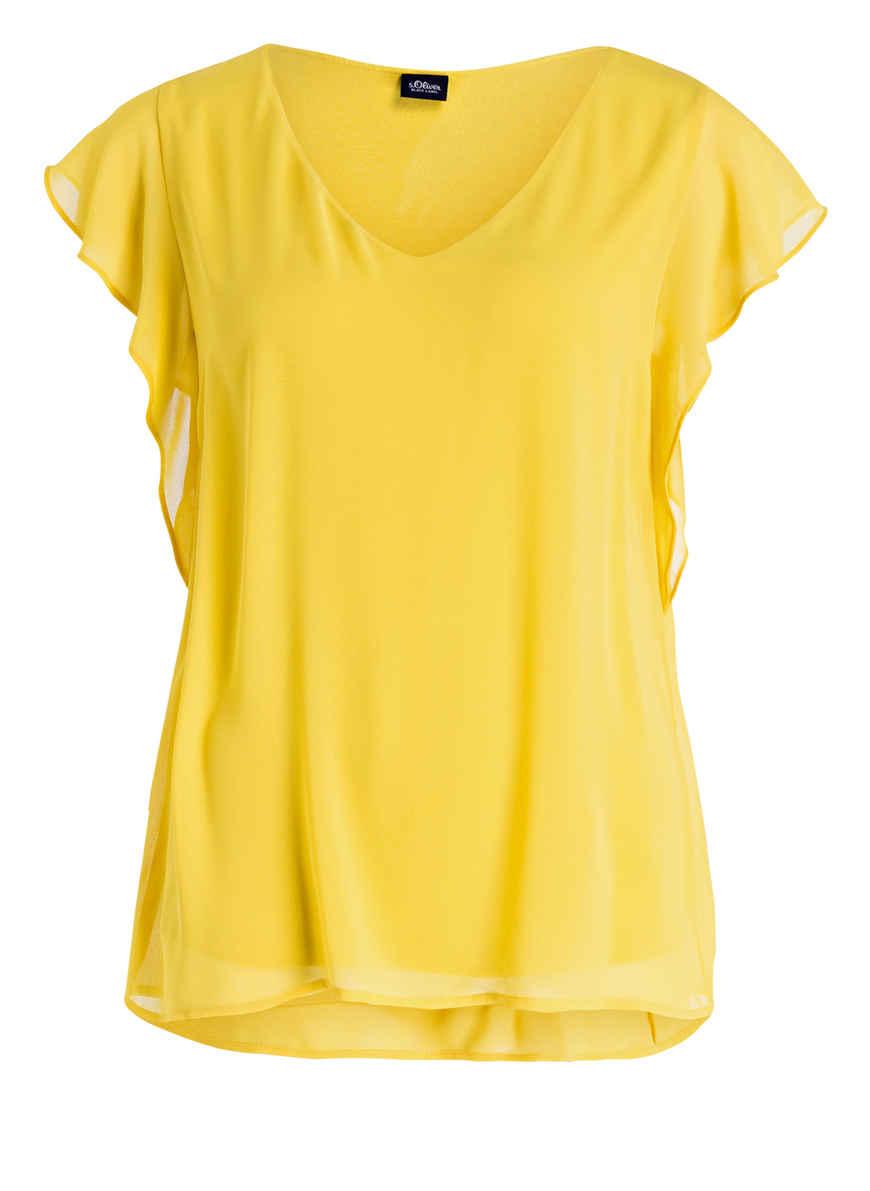 Bei Blusenshirt Von S Gelb Label Black oliver Kaufen cT1lKJF3