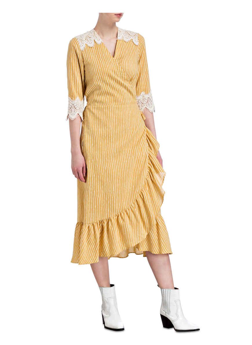 DunkelgelbCreme Wickelkleid Remember Valérie Khalfon Kaufen Bei Von xBeodC