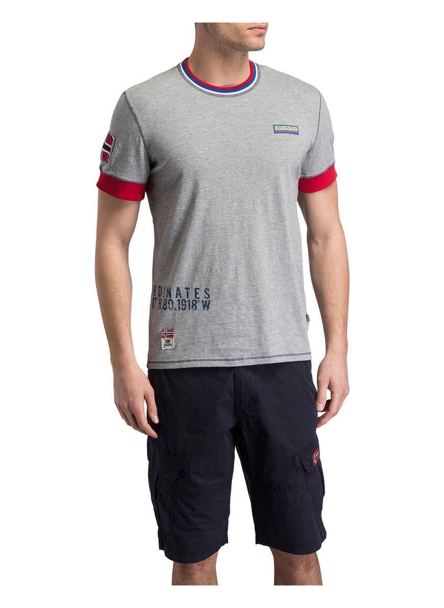 Von T Kaufen shirt Seech Napapijri Grau Bei QCxBodeErW