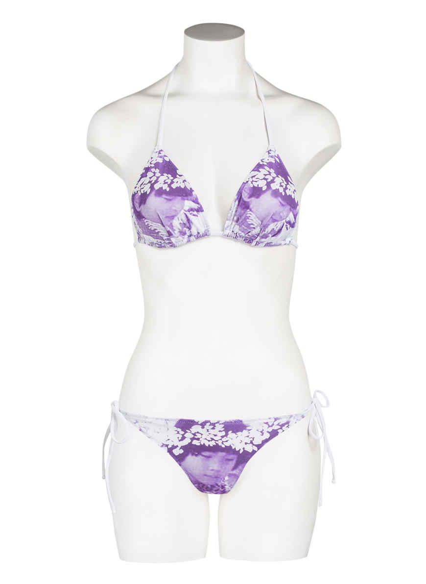 Hawaii Triangel Justine Jet Set WeissLila Bei Von bikini Kaufen qSzVpMU