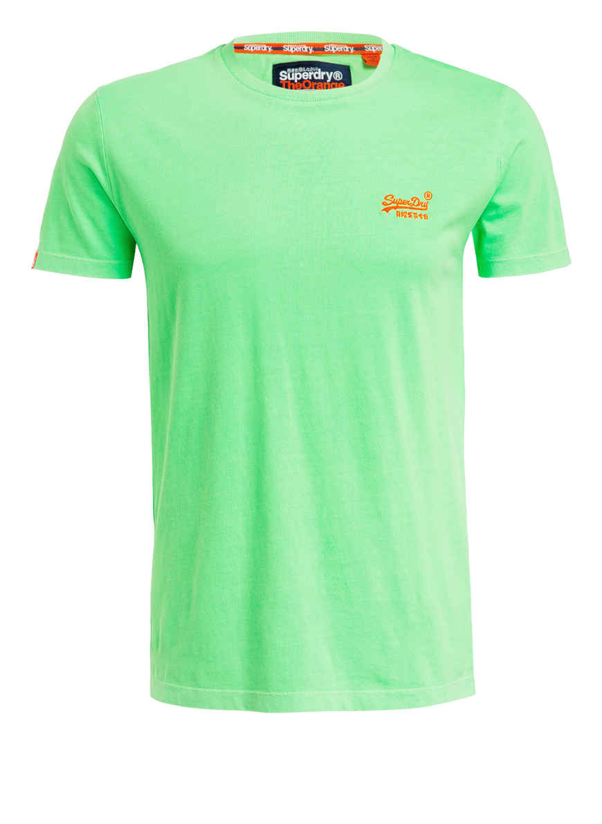 T shirt Von Bei Kaufen Superdry Neongrün y6vb7Yfg