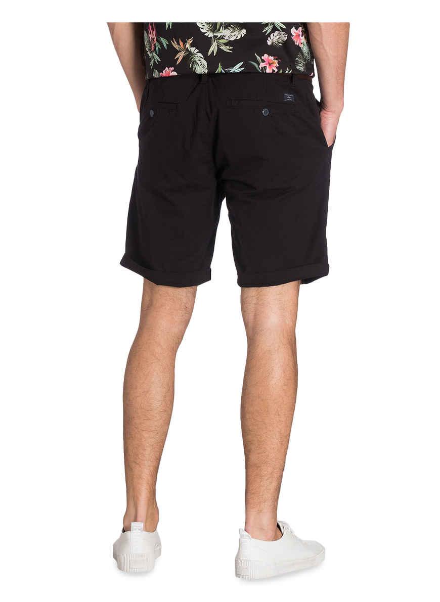 Chino-shorts Plek Von S.oliver Schwarz Black Friday