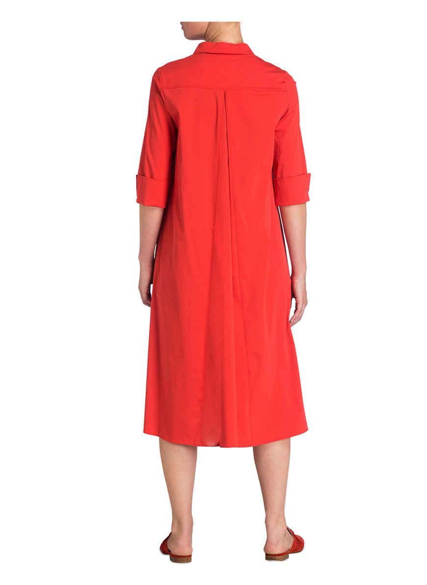 Von 3 4 Kaufen Bei Rot arm Mit Robe Hemdblusenkleid Légère NZnP8Ok0wX
