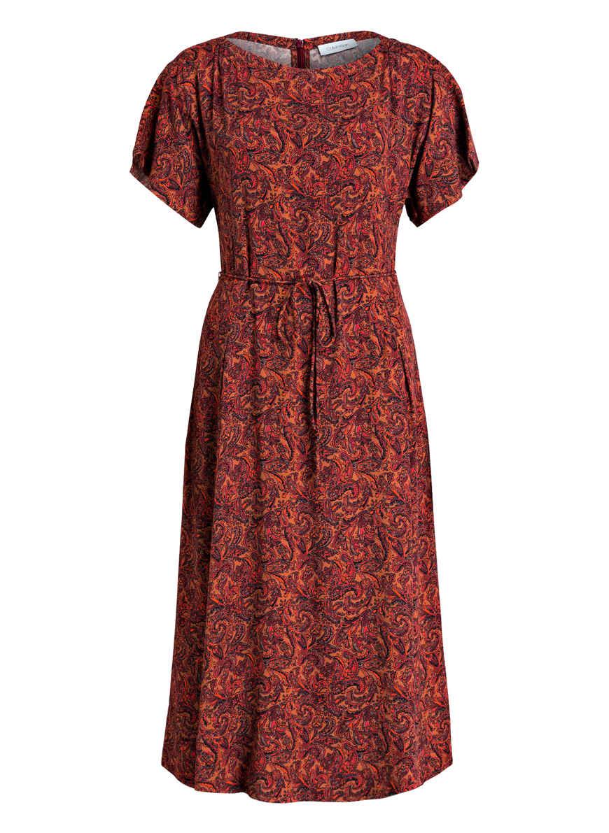 DunkelorangeSchwarzDunkelrot Bei Calvin Kaufen Kleid Klein Von E2YWH9DI