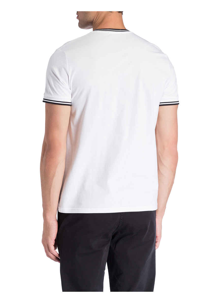 T-shirt Von Fred Perry Weiss Black Friday
