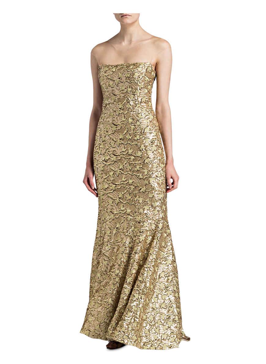 Bei Kaufen Gold Abendkleid Von Olvi's FK3l1TJc