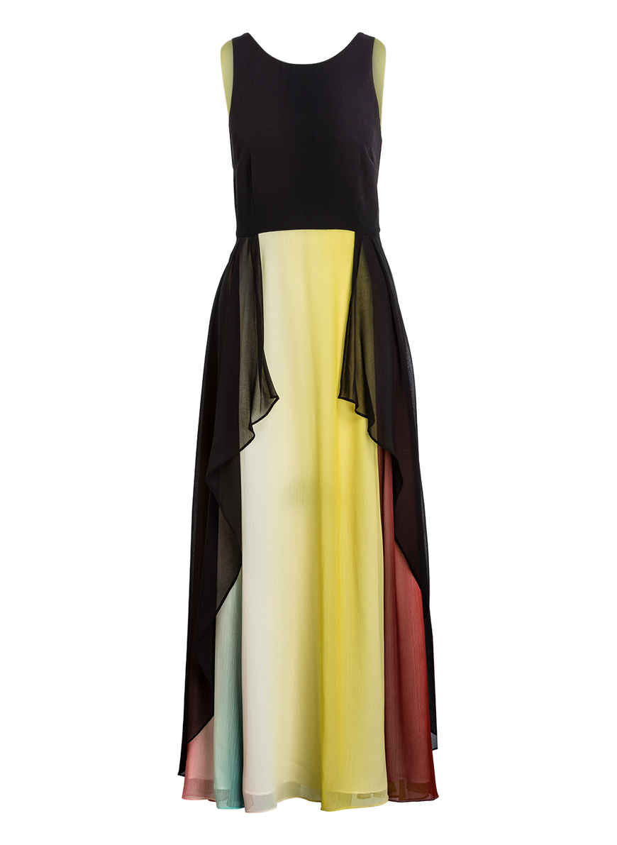 Kaufen Bei Kleid SchwarzGelbPink Lindsay Coast Von DIb2W9HYeE