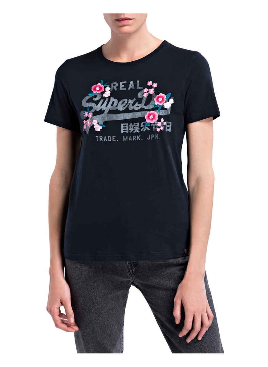 T-shirt Von Superdry Dunkelblau