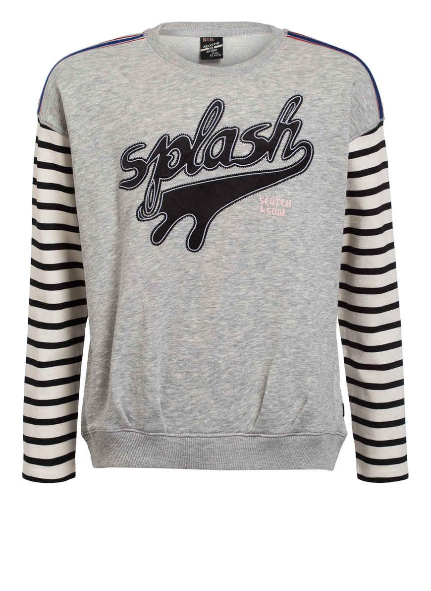 Meliert Bei Hellgrau Kaufen Sweatshirt Von R'belle Scotch QCrthdxoBs