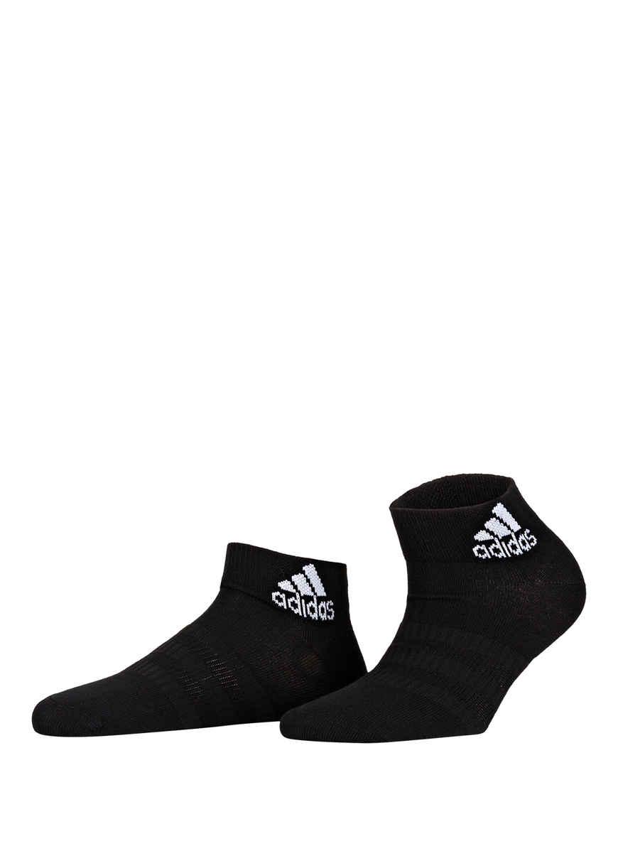Adidas Socken Sneaker 3er Pack weißgrauschwarz kaufen