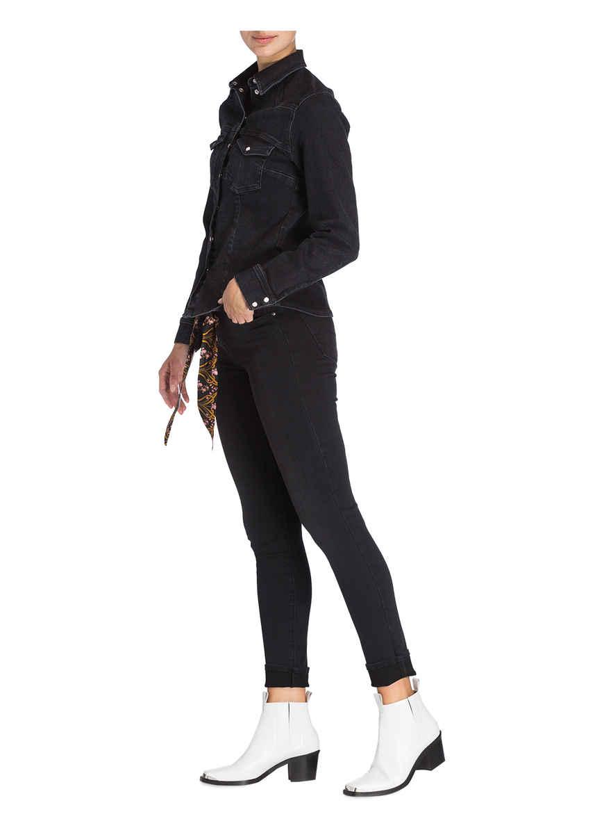 Skinny-jeans Kimberly Von Jacob Cohen Black Denim
