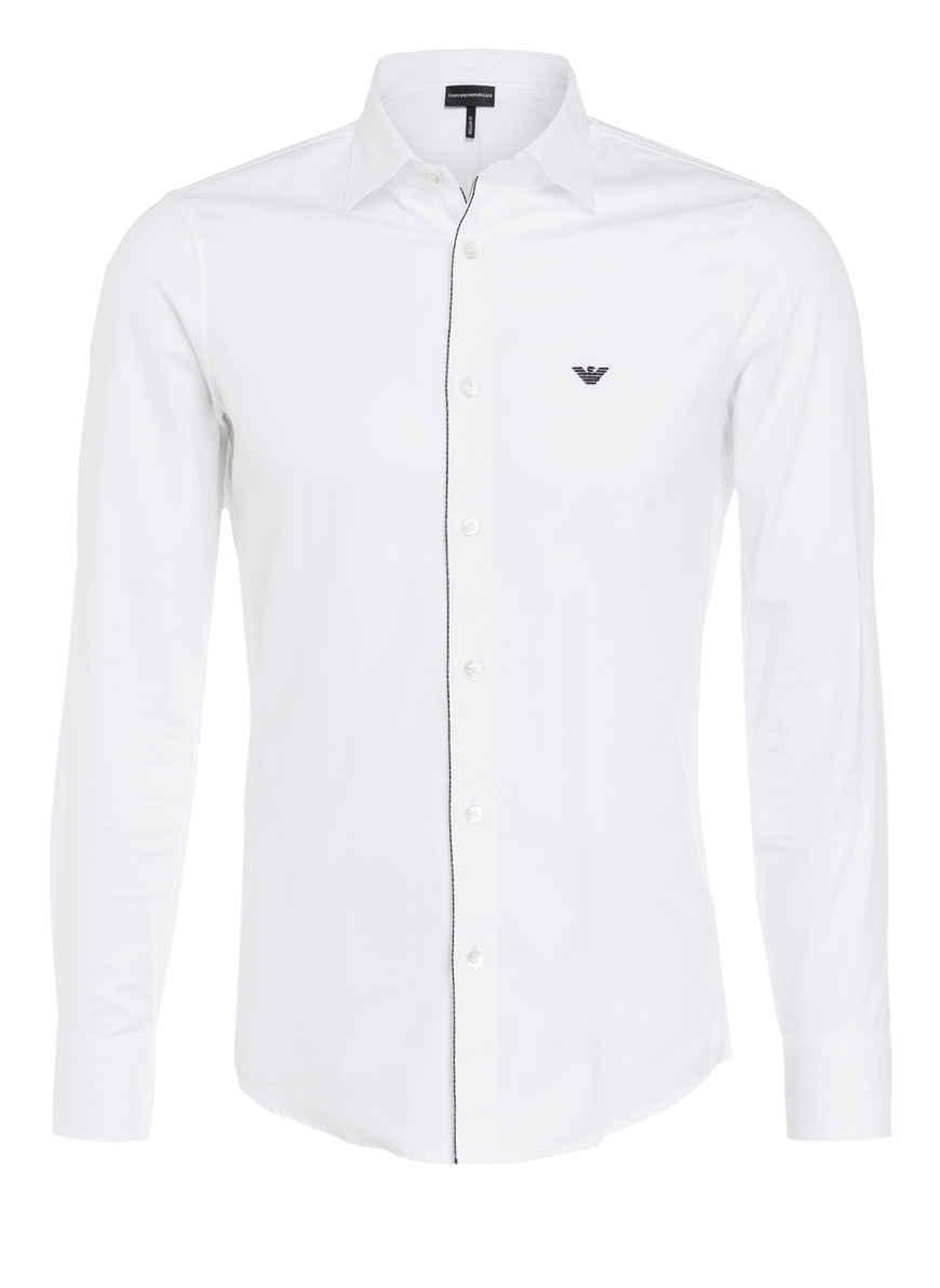 Regular Von Emporio Kaufen Bei Hemd Armani Weiss Fit Nwy80vOmn