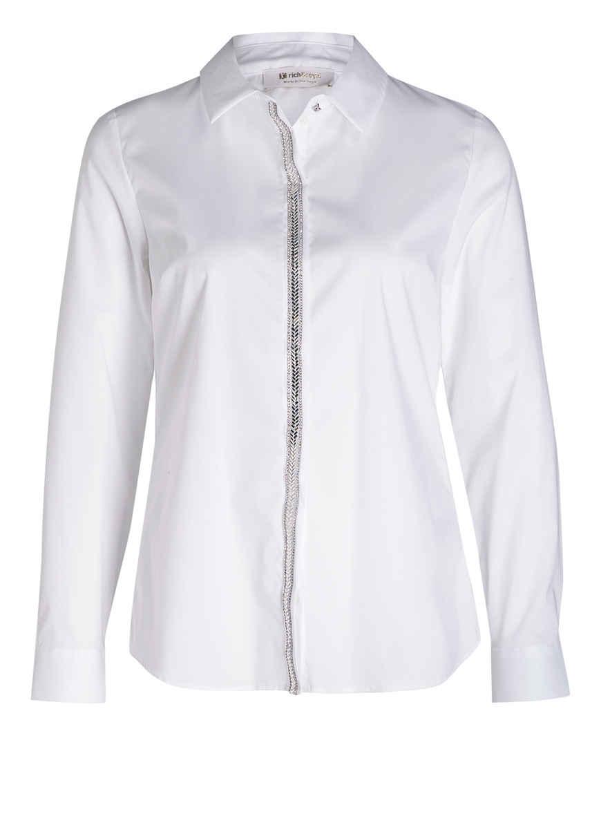 Bei Von Rich Kaufen Hemdbluse amp;royal Weiss lFK1TJc3