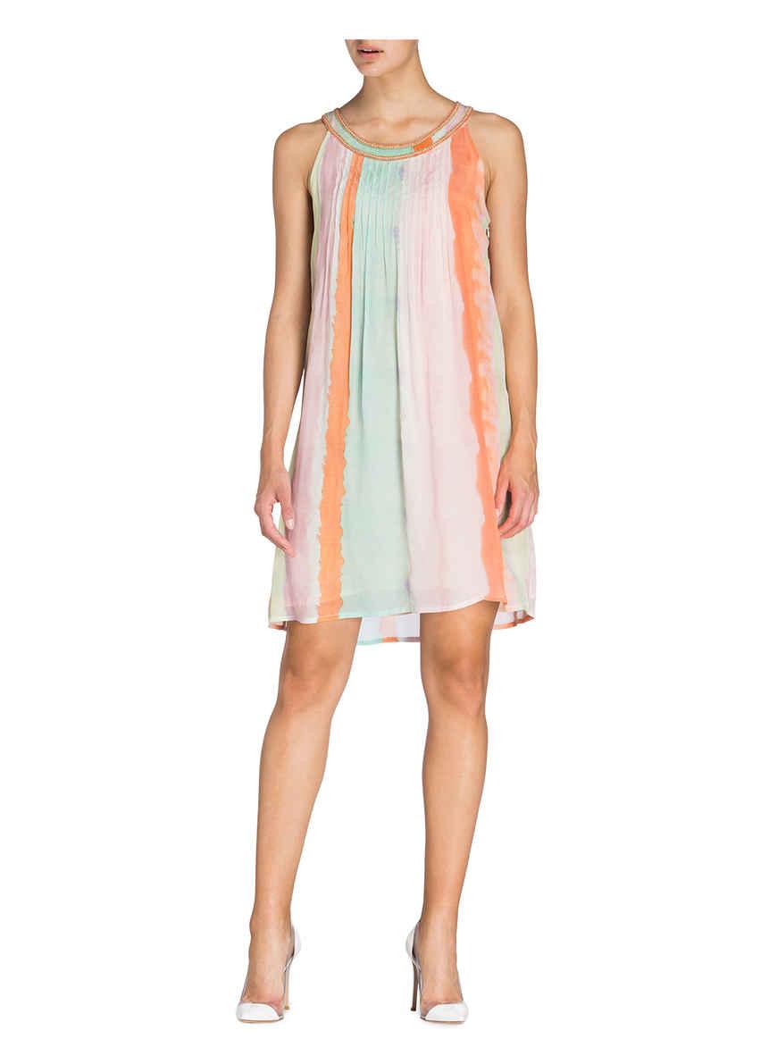 Bei GelbOrangeMint Gestreift Kleid Kaufen Malvin Von nkOPw80