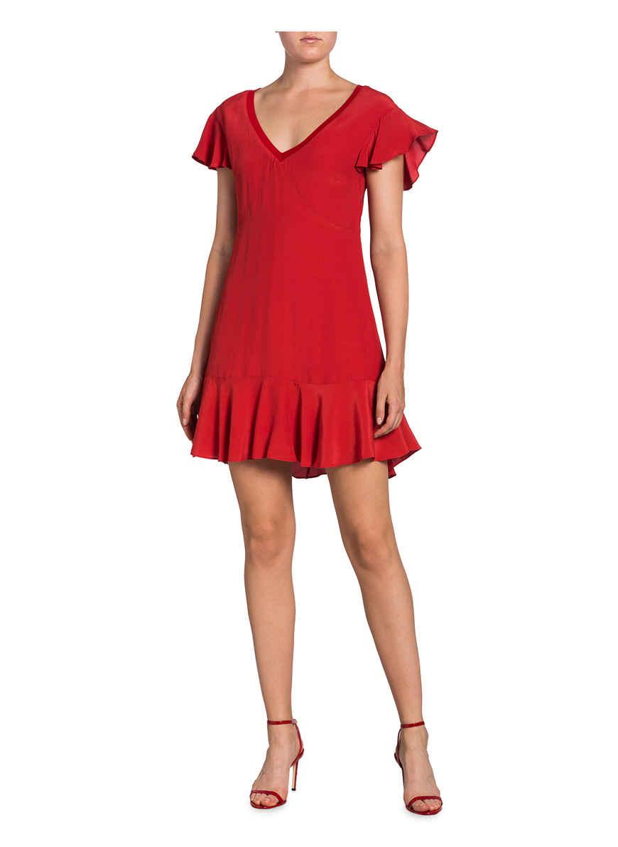 Pepe Von Jeans Iren Kleid Kaufen Rot Bei BeCxodr
