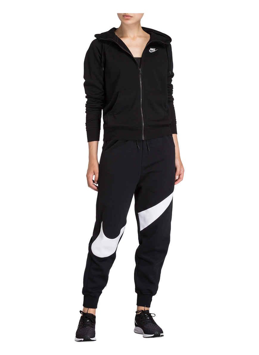 Sweatjacke Essential Von Nike Schwarz