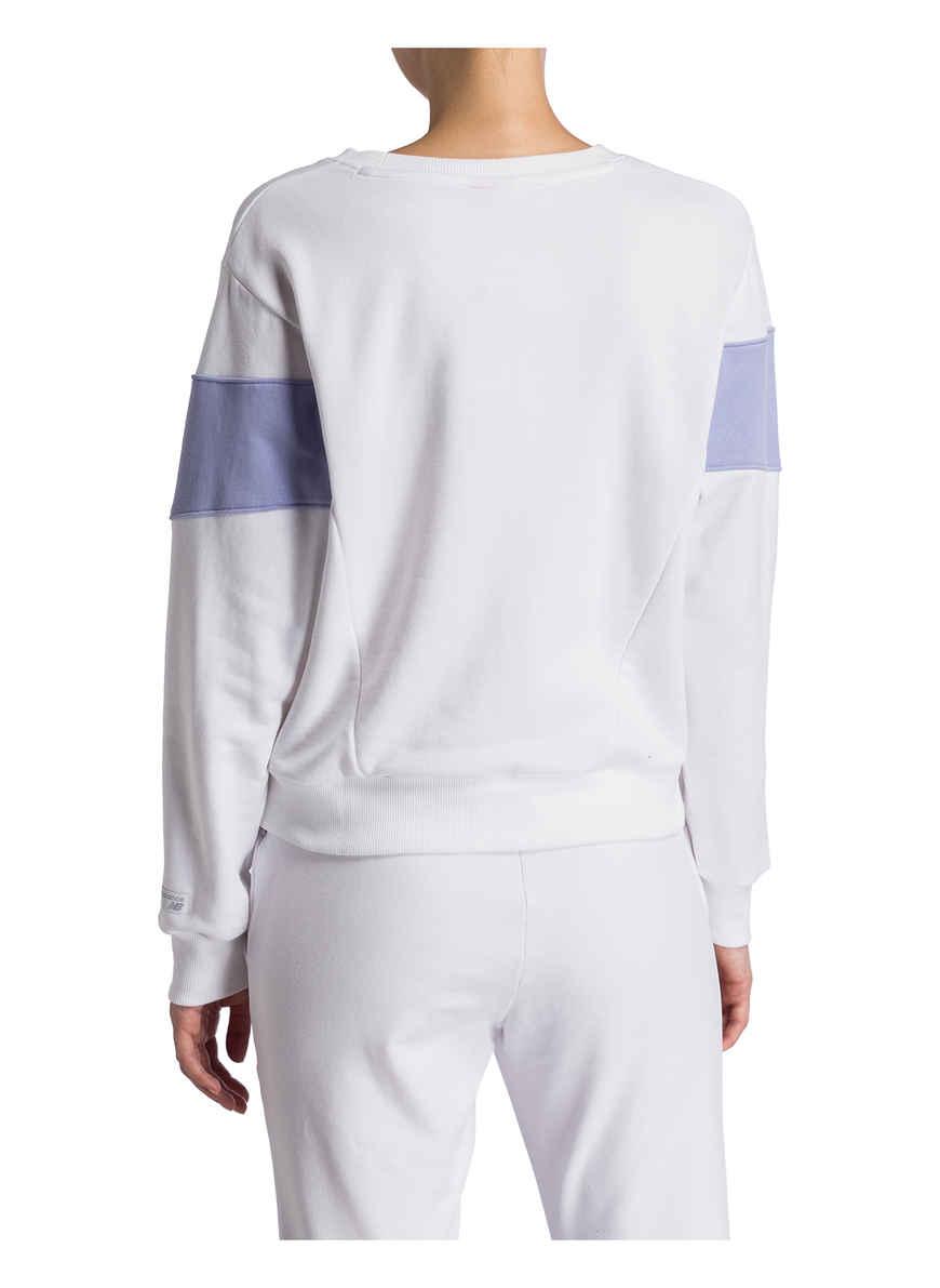 Von sweatshirt Bei Kaufen New Balance WeissHellila Cropped UVqSLzpGM