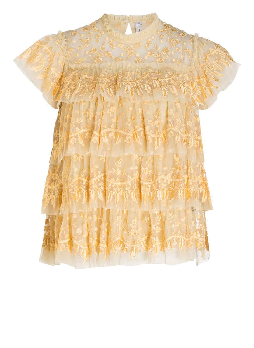 Bei Von Gelb Thread Angelica Kaufen Blusentop Needleamp; WIE29HYD