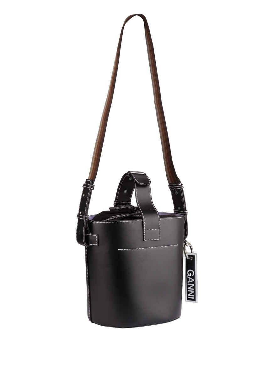 Von Schwarz Bei Handtasche Ganni Kaufen Qtshrd