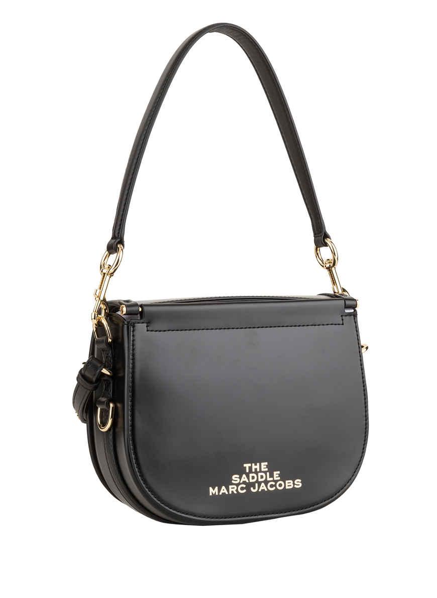 Bei Marc Kaufen Jacobs Saddle The Bag Schwarz Umhängetasche Von OPn08Xwk