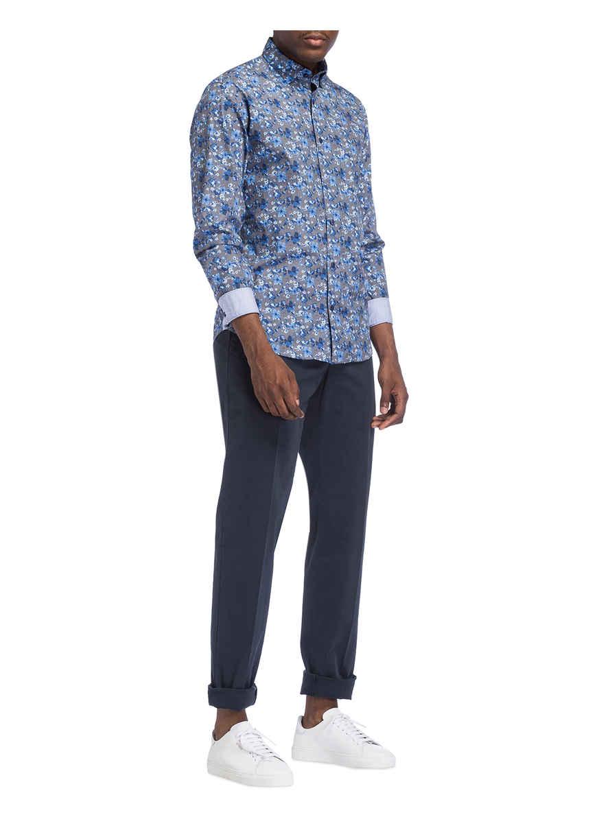 Kaufen Hemd Treviso Bei Shaped Fil Hbd Noir BlauWeiss Fit Von mN0v8wn