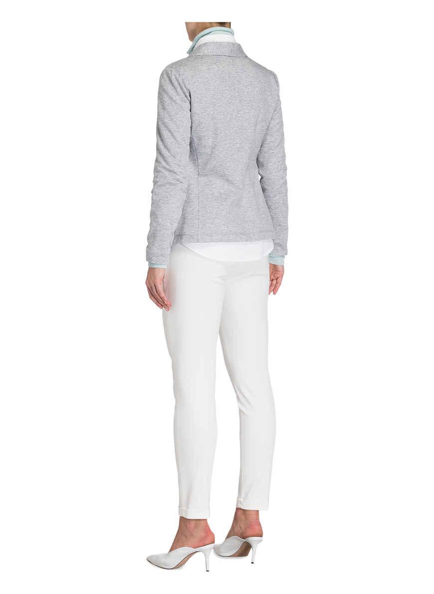 Jersey-blazer Von Peserico Grau